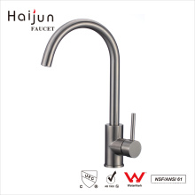 Haijun Factory Prices Single Hole Thermostatic Stainless Steel Water Basin Faucet
