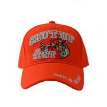 Fashion Acrylic Embroidery Baseball Cap in Orange Color (GKA01-F00064)