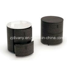 Moderna mesita de mármol madera (SM-B21)