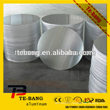 Aluminum circle sheet/aluminum color disc/aluminum round plate for cookware /food use