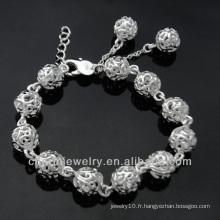 Alibaba Vente chaude de bijoux bracelet en argent bracelets BSS-022