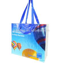 Imprimé personnalisé logo réutilisable étanche épicerie sac