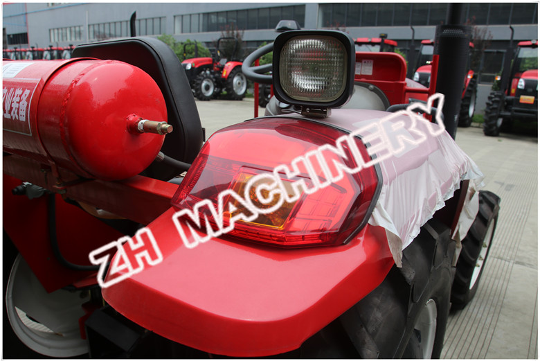 Big Taillight of farming tractor