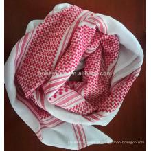 completo nas especificações lenço vermelho cocar yashmagh árabe para venda