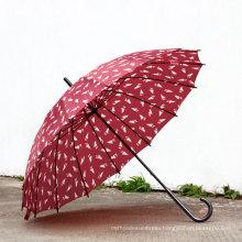 Manual Open Printing Straight Umbrella (BD-36)