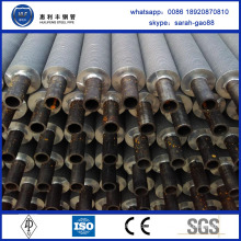 High quality cheap aluminum and steel finned tube