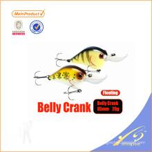 CKL020 Novo design chinês pesca isca manivela isca