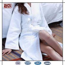Elegant Design 100% Cotton Shawl Collar Style Luxury Hotel Waffle Bathrobe