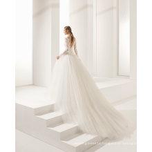 Hot Selling Grenadine Lace Wedding Dress