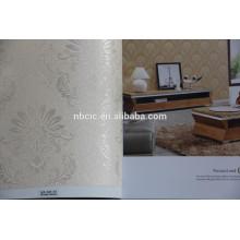 FOB. Shanghai textil Jacquard Wallcloth Wallfabric