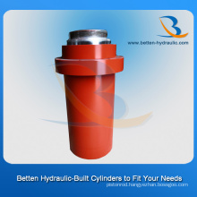 Front Flange Hydraulic Cylinder as You Drawing