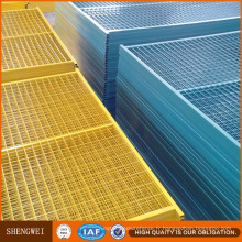 6'x10 ′ Panneaux de clôture en PVC durable