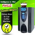 Feijão de luxo para a máquina de café espresso copo