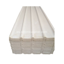 Ancho 0.72M UV Blockong Mgo Roofing Sheet