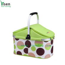 New Portable Cooler Bag, Shopping Basket (YSCB08-002)