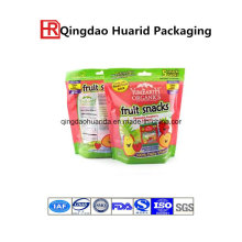 Stand up Fruit Juice Food Packaging Bag with Zipper