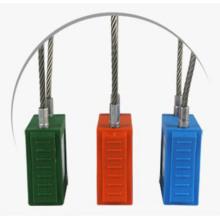 Candado de seguridad con cable Brady Bd-G43 de bloqueo de seguridad Brady con Key Different o Key Differ