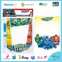 Justice League White Board Set