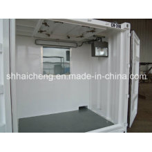 Casa pré-fabricada padrão do recipiente para o dormitório