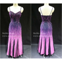 [In Stock] Column Open Back Spaghetti Strap Sweetheart Evening Dress Prom Gown with Sequins BYE-14056