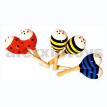 Juguete de música de madera Maracas (80936-1, 80936-2, 80936-3)