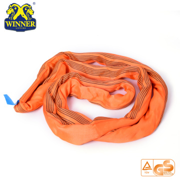 Heavy Duty 10T Polyester Feather Lifting Endless Round Sling