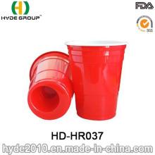 BPA Free plástico vermelho Solo copo para festa