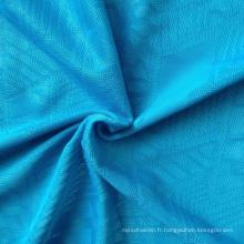 Poly / Spandex Tissu jacquard en tricot (QF13-0690)