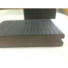 Tablero de WPC de coextrusión de grano de madera sólida cubierta