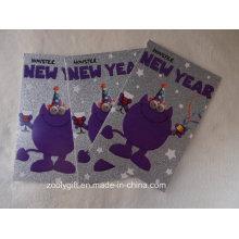 Праздничный блеск Дизайн Бумага для печати поздравительные открытки с конвертом
