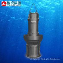 Pompe à moteur submersible avec hélice axiale (QZ)