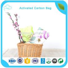 Adsorción de sustancias nocivas Bolsa de carbón activado para el hogar y el automóvil