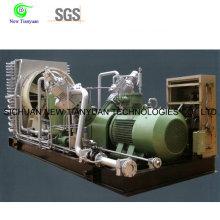 1300nm3h Modo de arrefecimento a ar de grande deslocamento Compressor de gás com pistão