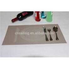 30x45cm tableware jacquard PVC woven placemat