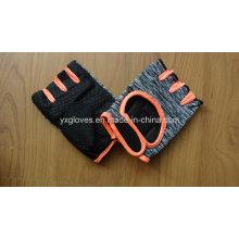 Guante de seguridad-guante de medio dedo guante de ciclismo guante de bicicleta guante deportivo guante de PVC guante
