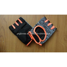 Safety Glove-Half Finger Glove-Cycling Glove- Bicycle Glove-Sport Glove-PVC Dotted Glove
