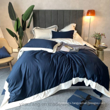 Deluxe Marriott Hotel Linen 3PCS Twin Duvet Cover 100% Long Staple Cotton