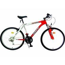 Bicicleta de montanha MTB de 18 velocidades com suspensão