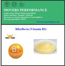 Haute qualité à faible teneur en produits alimentaires Riboflavine (vitamine B2)