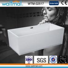 Luxus-Qualitäts-kühle rechteckige freistehende Badewanne (WTM-02517)