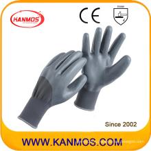 15gaug Nylon Nitrile с покрытием промышленной безопасности рабочие перчатки (53303NL)