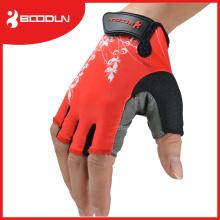 Unisex Half Finger Handschuhe für Radfahren verwendet