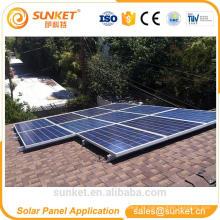 melhor 250wp poli painel solar cristalino garantido entrega durante a noite