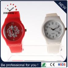 2015 Top-Verkauf Fabrik Preis Uhr Silikon Armbanduhr (DC-1000)