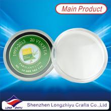 Monedas de Token de hierro relleno de monedas de color medalla insignia de desafío personalizado (lzy1300033)