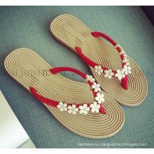 Custom Casual Comfortable Rubber Women Slippers Flip Flop
