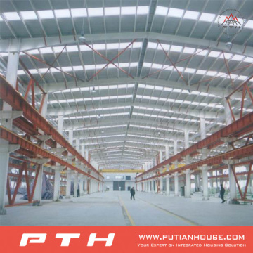 2015 Pth Professional Design Low Cost Steel Structure Warehouse