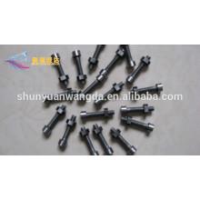 molybdenum threaded rods fastener, molybdenum screw