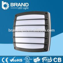 IP65 IK10 alta qualidade parede exterior luminária 2XE27 luz de parede exterior