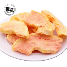 ISO seperate package of Freeze Dried Papaya Chips fruit Snacks